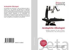 Bookcover of Acidophilie (Ökologie)