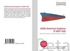 Bookcover of USNS American Explorer (T-AOT-165)