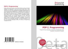 Capa do livro de POP-2, Programming