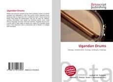 Capa do livro de Ugandan Drums