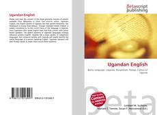 Capa do livro de Ugandan English