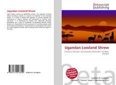 Capa do livro de Ugandan Lowland Shrew
