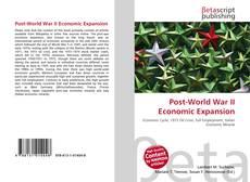 Capa do livro de Post-World War II Economic Expansion