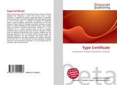 Borítókép a  Type Certificate - hoz