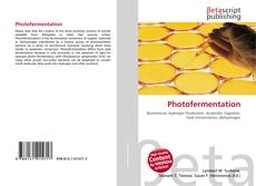 Bookcover of Photofermentation