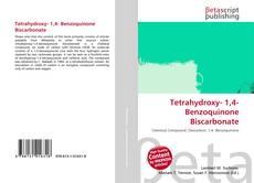 Bookcover of Tetrahydroxy- 1,4- Benzoquinone Biscarbonate