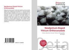 Capa do livro de Neodymium-Doped Yttrium Orthovanadate