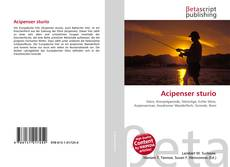 Bookcover of Acipenser sturio