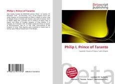 Обложка Philip I, Prince of Taranto