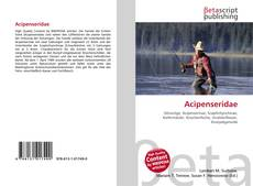 Bookcover of Acipenseridae