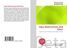 Bookcover of Ugaz Abdulrahman Abd Ghani