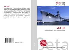 Bookcover of VRC- 40