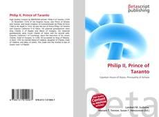 Обложка Philip II, Prince of Taranto