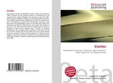 Bookcover of Vantec