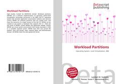 Bookcover of Workload Partitions