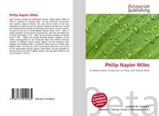 Обложка Philip Napier Miles