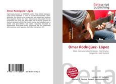 Portada del libro de Omar Rodríguez- López