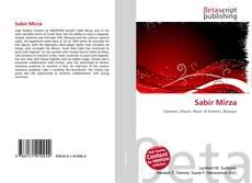 Sabir Mirza kitap kapağı