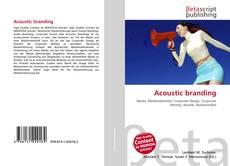 Borítókép a  Acoustic branding - hoz