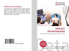 Obstetric Ultrasonography kitap kapağı
