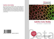Bookcover of Sabitha Indra Reddy