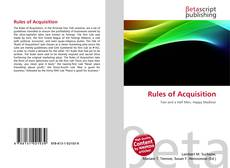 Bookcover of Rules of Acquisition