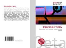 Bookcover of Obstruction Theory