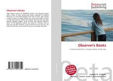Buchcover von Observer's Books
