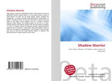 Bookcover of Shadow Warrior