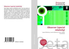 Bookcover of Observer (special relativity)