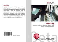 Bookcover of Acquiring