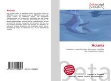Buchcover von Acrania