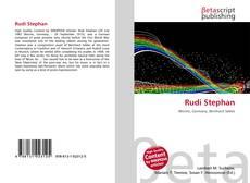Bookcover of Rudi Stephan