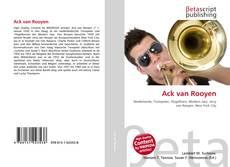 Bookcover of Ack van Rooyen