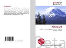 Bookcover of Ackeldruft