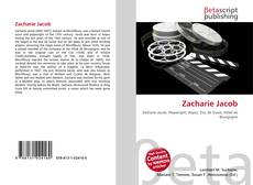 Capa do livro de Zacharie Jacob