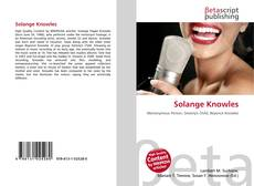 Bookcover of Solange Knowles