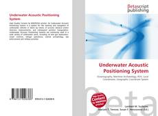 Couverture de Underwater Acoustic Positioning System
