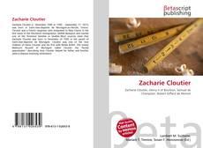 Zacharie Cloutier kitap kapağı