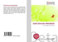 Bookcover of Sabit Damulla Abdulbaki