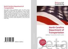 North Carolina Department of Transportation kitap kapağı