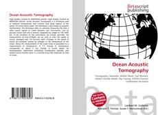 Bookcover of Ocean Acoustic Tomography