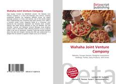 Bookcover of Wahaha Joint Venture Company