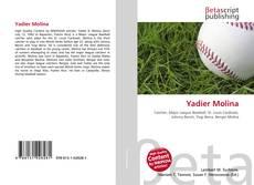 Capa do livro de Yadier Molina