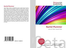 Bookcover of Rachel Plummer