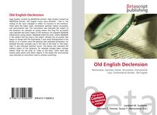 Old English Declension的封面
