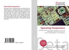 Bookcover of Operating Temperature