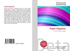 Couverture de Paper Negative
