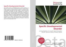 Copertina di Specific Developmental Disorder
