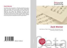 Capa do livro de Zack Werner